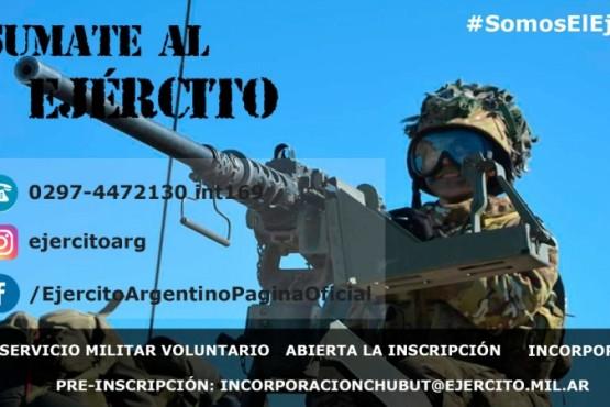 Preincripción de ciudadanos para ser soldado voluntario