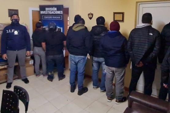 DDI detiene a nueve personas con pedido de captura
