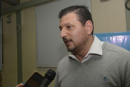 El presidente del directorio de Vialidad Provincial, Mauricio Gómez Bull