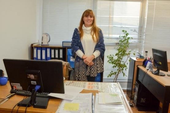 La Dra. Romina Mariani se encuentra a cargo de la dependencia hace 6 años. (Foto: C.R.).