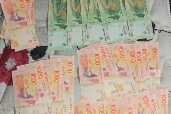 Allanamiento por robo: recuperan 33 mil pesos y electrodomésticos