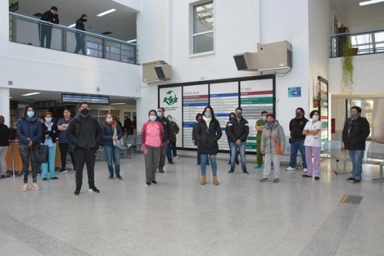 Foto Enermeros en el Hospital Regional (C.R.)