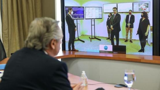 Teleconferencia con Capitanich.