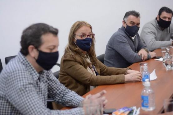 Alicia se reunió con las distintas áreas del Ministerio de Economía