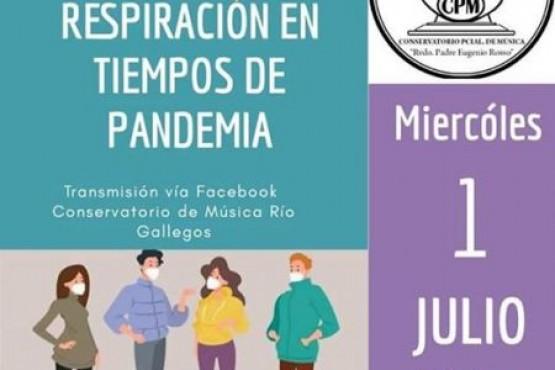 """""""La respiración en tiempos de pandemia"""""""