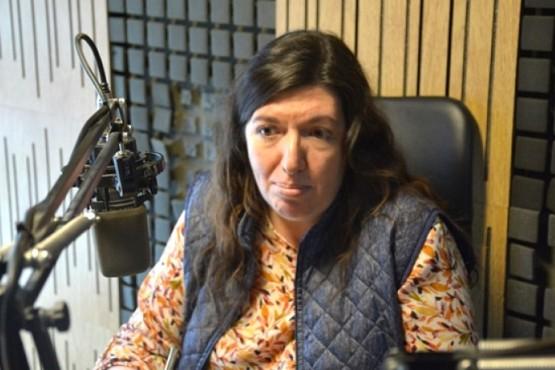 Julia Chalub, secretaria de Niñez, Adolescencia y Familia de la Municipalidad de Río Gallegos.