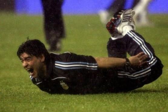 Quieren a Maradona como DT de España