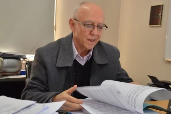 El secretario de Gabinete y Gobierno de la Municipalidad de Trelew, Eduardo Maza