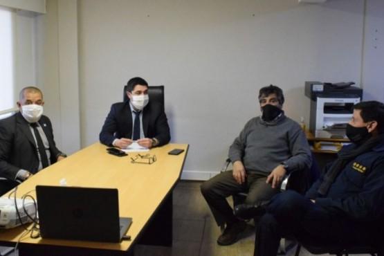 Santa Cruz participó de la reunión extraordinaria del Consejo de Seguridad Interior
