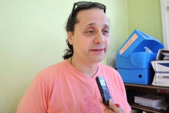 Marcelo Cena, artesano.