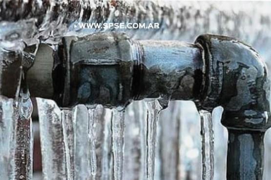 Recomendaciones para prevenir congelamiento de cañerías de agua