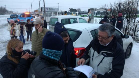 Municipio tomó posesión de los colectivos secuestrados a Maxia