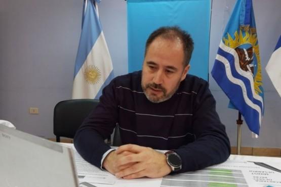 El secretario de Estado de Deportes de la Provincia de Santa Cruz, Martín López