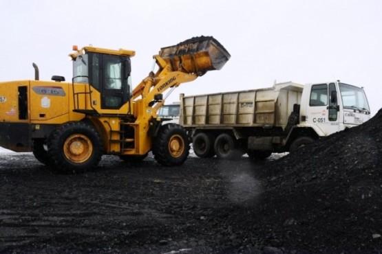 Repartieron 60 toneladas de carbón en los barrios de Río Gallegos