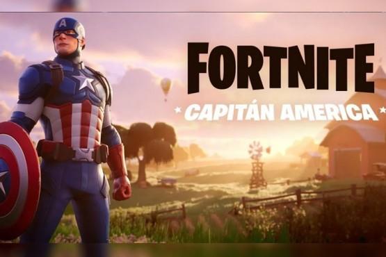 """Llegó el Capitán América al Fortnite: cómo conseguir su """"skin"""""""