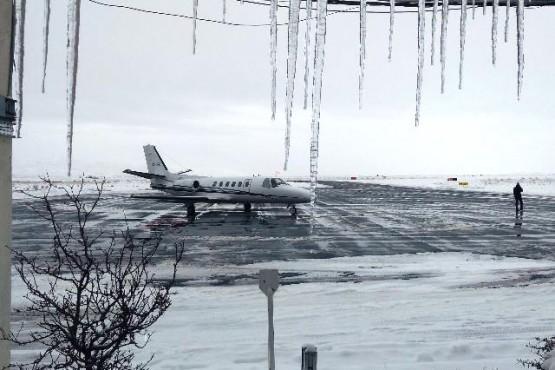Se activa el Programa de Control de Hielo y Nieve en los aeropuertos patagónicos