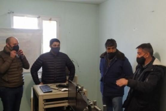 De La Torre se reunió con autoridades y recorrió dependencias en la Cuenca