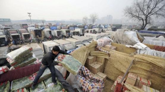 China cerrará gradualmente los mercados donde se venden aves vivas