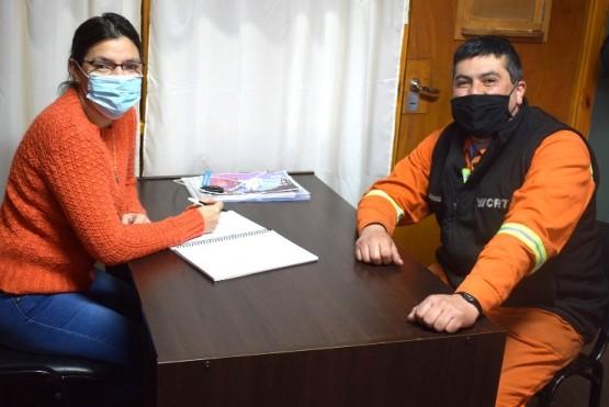 Nieto recibió a Gómez en su despacho