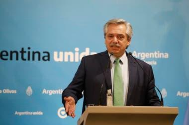 Alberto Fernández habló sobre las dudas en el crimen de Fabián Gutiérrez