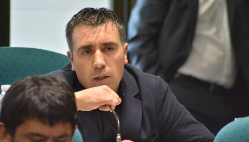 El diputado Claudio Barría.