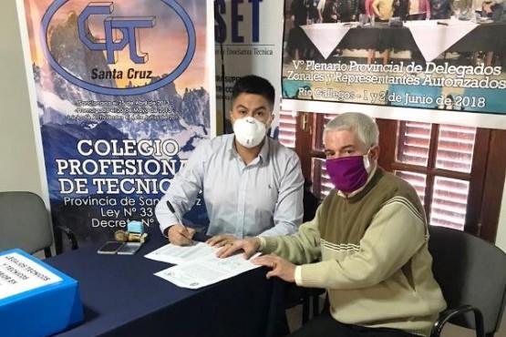 Matías Hernández y Carlos Barbería.
