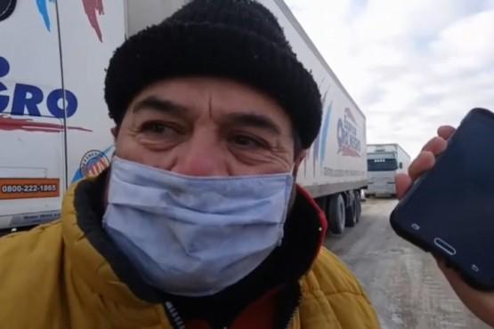Camioneros en Aduana: