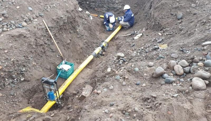 Gobierno finalizó obra de ampliación de gas en Los Antiguos
