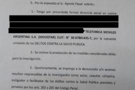 Gobierno denunció a Movistar y a los cuatro trabajadores por incumplir la normativa