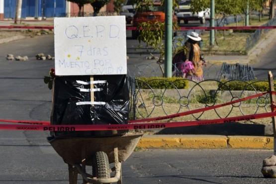 Bolivia: cadáveres en calles por colapso de las funerarias