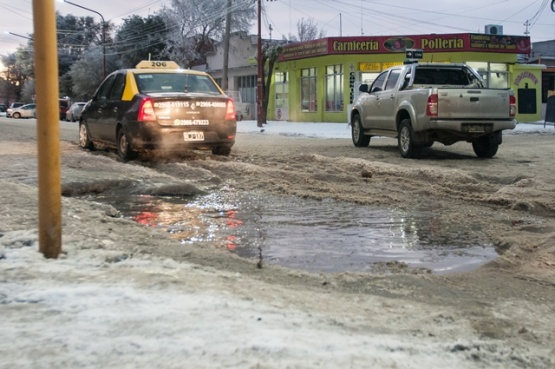 El arte de conducir sobre montañas de hielo