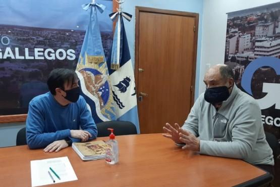 José Luis Gómez estará a cargo de la transición de Maxia. Ayer se reunió con Grasso.