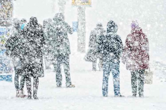 Alerta por nevadas persistentes en Chubut