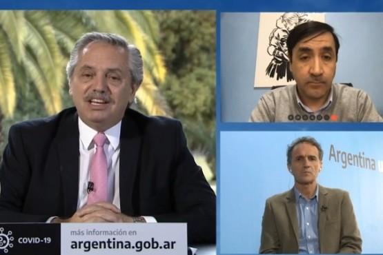 """Alberto Fernández: """"Hay que hacerle más fácil la vida a los que viven en el sur"""""""