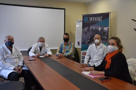 Salud firmó convenio con IMAG para la realización de estudio de COVID-19