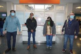 Médicos de El Calafate viajan a Chaco como voluntarios para hacer frente al COVID19