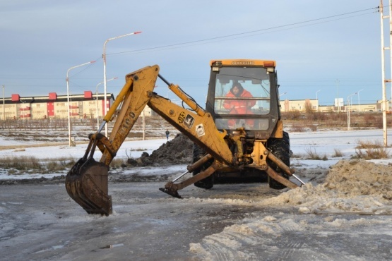 Obras Públicas: Realizan poda baja en el Gaucho Rivero y desobstrucción de calles