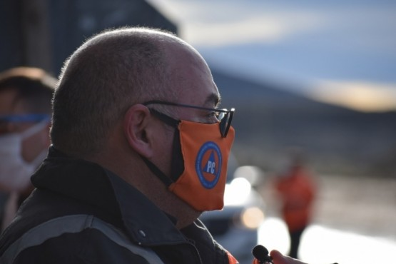 El Subsecretario de Protección Civil y Abordaje Integral de Emergencias y Catástrofes, Diego Farías