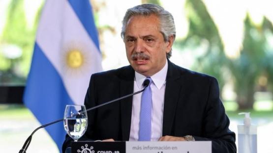 Alberto Fernández anunció que la tercera cuota del IFE se pagará en todo el país