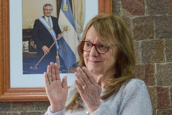 Alicia participó del acto encabezado por Alberto Fernández