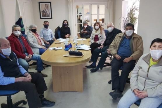 Titulares de la ANSES se reunieron con los jubilados