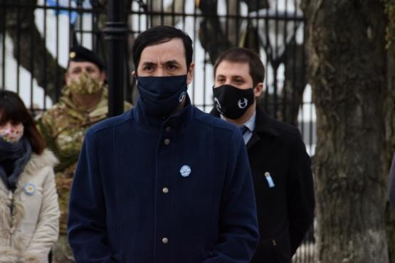 Grasso participó del acto por el Día de la Independencia