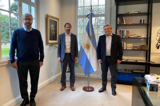 El Presidente recibió en Olivos al director científico de la Fundación INFANT
