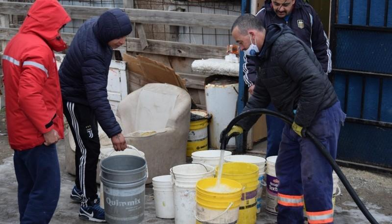Más de 160 familias fueron beneficiadas con 80 mil litros de agua