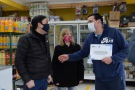 Día del Comerciante: Grasso reconoció a empresarios locales