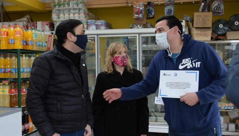 Día del Comerciante: Intendente Grasso reconoció a empresarios locales