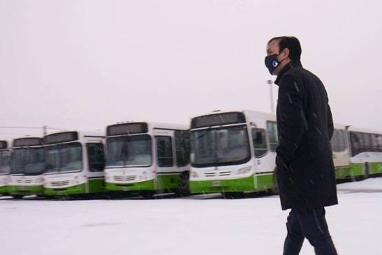 Se busca restablecer el servicio de transporte de colectivos. (Archivo).