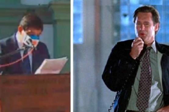 Intendente copió su discurso del 9 de Julio de la película ´Día de la independencia´