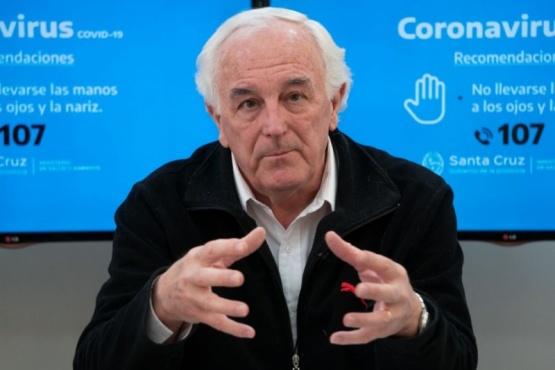 Juan Carlos Nadalich, ministro de salud.