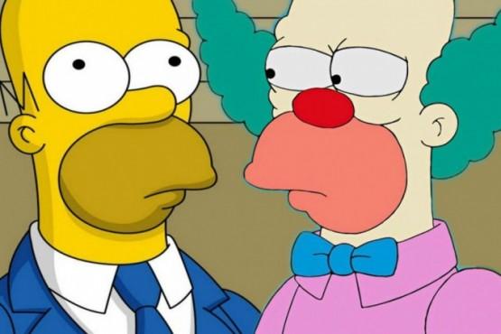 ¿Por qué Homero Simpson y Krusty son iguales?
